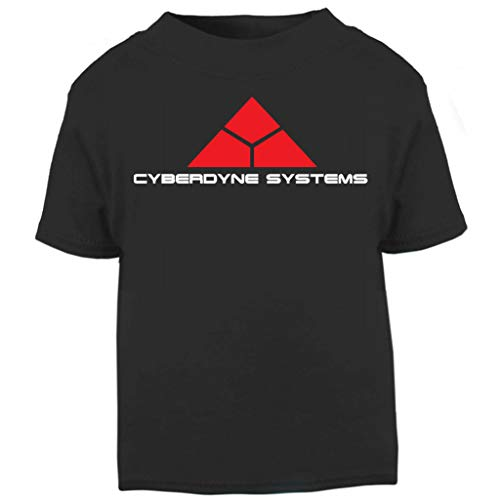 Terminator Cyberdyne Systems Baby and Toddler Short Sleeve T-Shirt