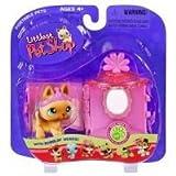 Littlest Pet Shop - Portable Pets - Set mit Katze LPS 212