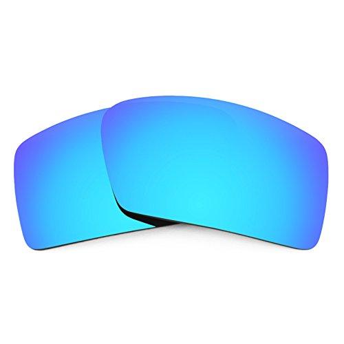 Verres de rechange pour Oakley Eyepatch 1 — Plusieurs options Bleu Glacier MirrorShield® - Non-Polarisés