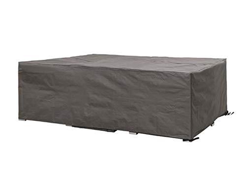 Perel Garden OCLS300 Schutzhülle Für Lounge-Set-300 cm, Schwarz, 300 x 300 x 75 cm