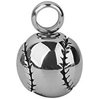 Cuore Urna Pendenti Di Design Di Baseball Cremazione Keepsake Titolare Cenere Pet - Baseball Keepsake
