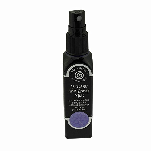 Cosmic Shimmer Tinten-Spray / Sprühnebel, Vintage, 50 ml, Farbe: Purple Orchid -