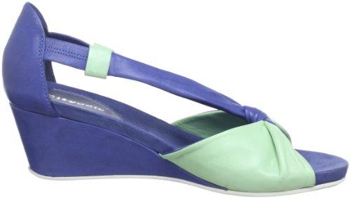 Citygate 910470, Sandales femme Bleu (Blau/Apfel 5)