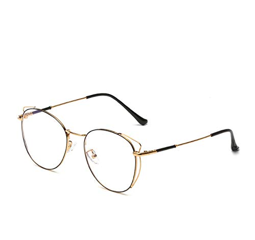 Cat Ears Anti-blu-ray Glasses Frame Trend Cute Female Korean Fashion Round Face Literary Glasses D