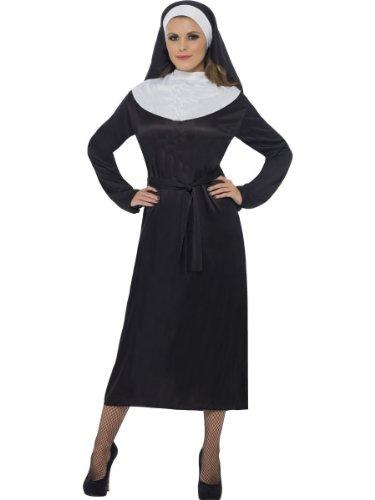 Nonne Fancy Kleid SISTER Nonnen Habit Kleid Kostüm 3Größen (Nonne Kostüm Ideen)