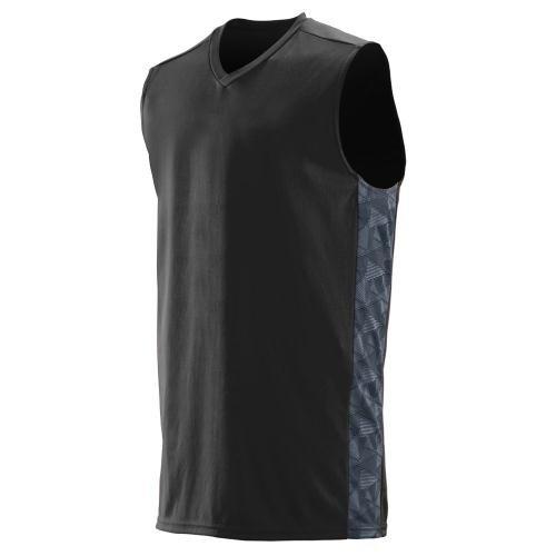 Augusta Sportswear Fast Break Giochi da ragazzo BLACK/GRAPHITE/BLACK PRINT Medium