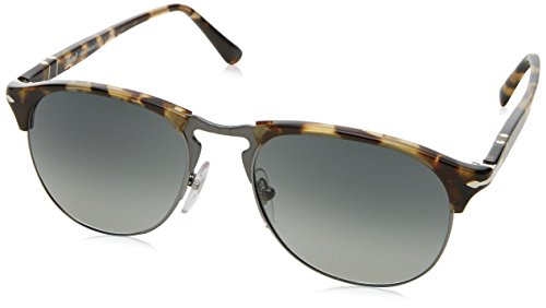 Persol Herren 0Po8649S 105671 53 Sonnenbrille, Braun (Brown/Beige Tortoise/Grey),