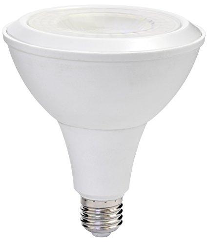 MÜLLER-LICHT 400066 A, LED Reflektorlampe PAR38 ersetzt 75 W, Plastik, 15.0 W, E27, weiß, 13.2 x 12.0 x 12.0 cm