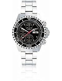 Chris Benz Deep 500m Chronograph CB-500A-C1-MB Automatic Mens Chronograph Diving Watch