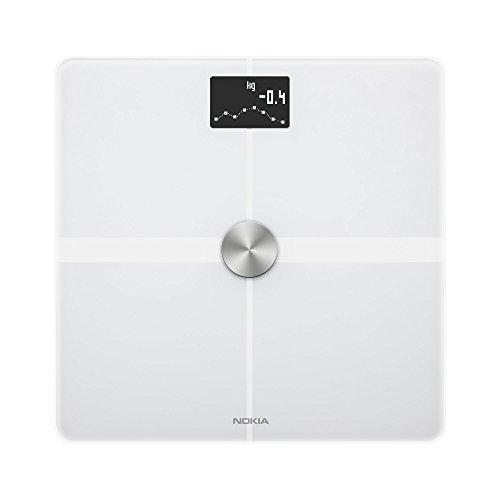 Nokia Body+ – Body Composition Wi-Fi Scale, white Best Price and Cheapest