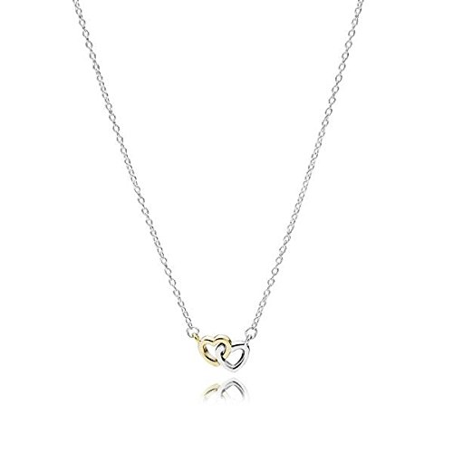 hänger Herzen, Silber mit Gold 585 590517-45 ()