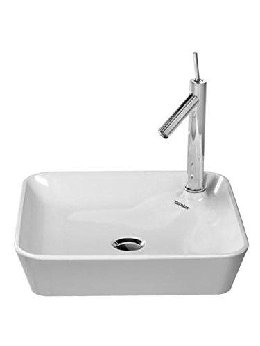 Preisvergleich Produktbild Duravit Starck 1 Aufsatzbecken weiß 460 mm, 460 x 460 mm, 2322460000