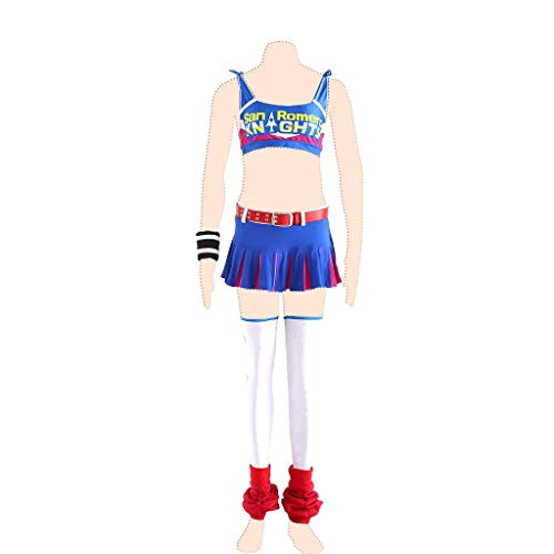 Dream2Reality Lollipop Chainsaw Cosplay Kostuem Juliet Starling Ver.1 Cheerleaders Clothes Kid (Lollipop Kid Kostüm)