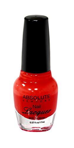 NEW YORK Vernis à ongles – True Red absolue, 1 pièce