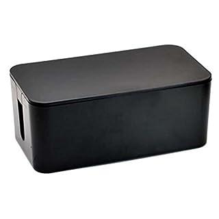 Tosnail Kabelbox 41*16*13cm, schwarz