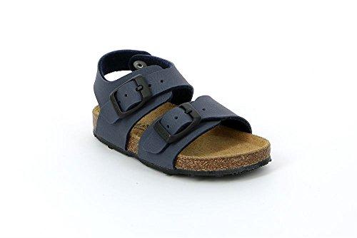 Grünland AFRE SB0413 beige taupe sandales bébé boucles Birk Blu