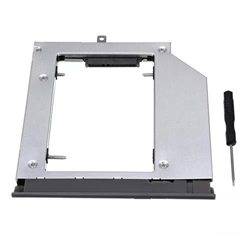 SUCAN Notebook Optisches Laufwerk Bay Festplattenlaufwerk Caddy für Lenovo ideapad 320 330 520 Converter