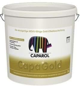 caparol capagold 2 5 liter gold k che haushalt. Black Bedroom Furniture Sets. Home Design Ideas