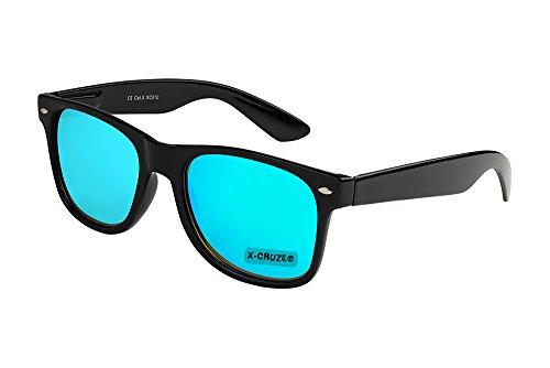 X-CRUZE 8-105 X0 Nerd Sonnenbrille Retro Vintage Design Style Stil Unisex Herren Damen Männer...