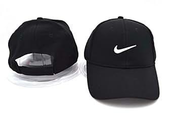 Nike snapback / casquettes (noir avec logo blanc)