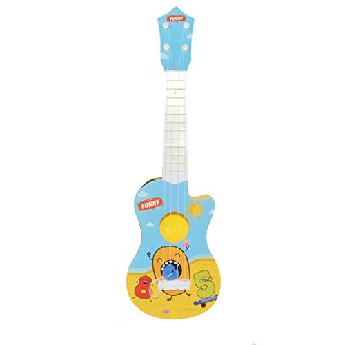 Cardith Kinder Robuste Ukulele Ungiftiges Musical  Instrument Vorschule  Musik Plastikspielzeug -