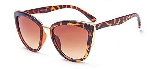 YUHANGH Cateye Sonnenbrillen Damen Vintage Farbverlauf Brillen Retro Cat Eye Sonnenbrillen Woman Eyewear