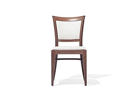 """""""en hêtre massif structure en bois verni chair. walnut. Utilisation intérieure, idéal pour le salon ou la chambre Salon design classique et rustique Modèle : PRATER."""