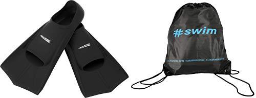 Aqua Speed Trainingsflossen + Ultrapower Rucksack   Schwimmflossen   Kurzflossen   Farbe: schwarz/07 Größe: 39/40