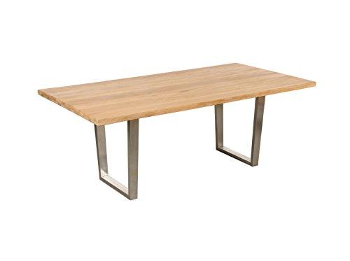 SAM® Esszimmer Tisch Rostock aus Wildeiche ca. 180 x 90 cm