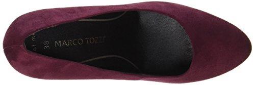 Marco Tozzi 22401, Scarpe con Tacco Donna Rosso (Chianti)