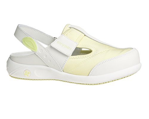 Oxypas Anais, Women's Safety Shoes, Bianco (Lbl), 39 Bianco (White (Lgn))