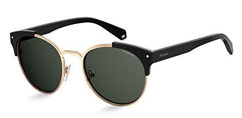 Demel Augenoptik Polaroid Sonnenbrille für Damen und Herren - Polarisierte Gläser mit UV400-Schutz - Inklusive Einsteck-Etui und Mikrofasertuch Modell: PLD 6038/S/X (807M9, 56)