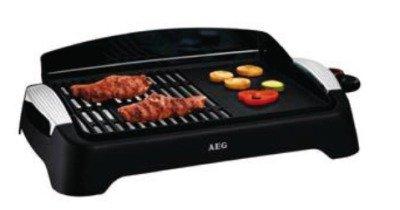 AEG Barbecue-Elektrogrill, Tischgerät, rechteckig, Gril