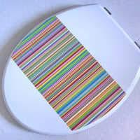 WC-Sitze U/O/V-Form MDF Mute Verdicken Aufsatz Ultra Resistant Toilettendeckel Für Familien Geeignet Toilettendeckel B