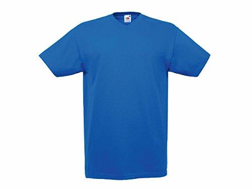 Fruit of the Loom Herren T-Shirt Königsblau