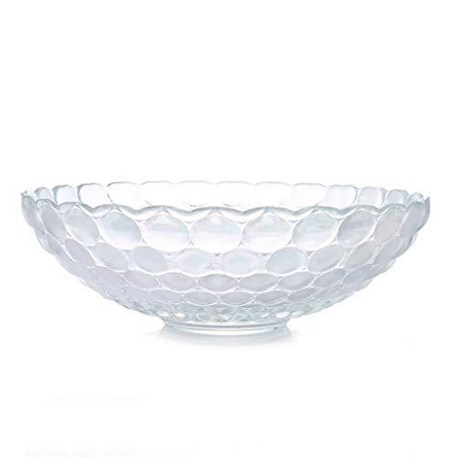 asfruchtschüssel, Transparente Platte, Trockenfrüchte-Snack-Süßigkeits-Behälter-Kuchen-Stand ()