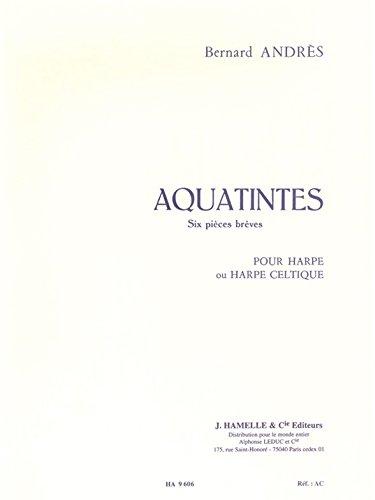 Andres: Aquatintes pour Harpe
