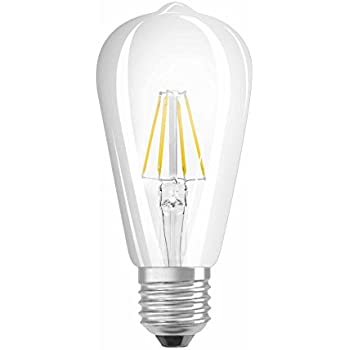 osram vintage edition 1906 ampoule led filament forme edison culot e27 dimmable 7w. Black Bedroom Furniture Sets. Home Design Ideas