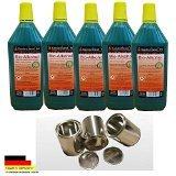 5 Liter Hochleistungs Bio Ethanol & 3 leere Brennstoffdosen 0,25 L