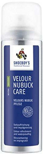 Shoeboy 's Velours Nubuk Pflege Spray, schwarz, 200ml