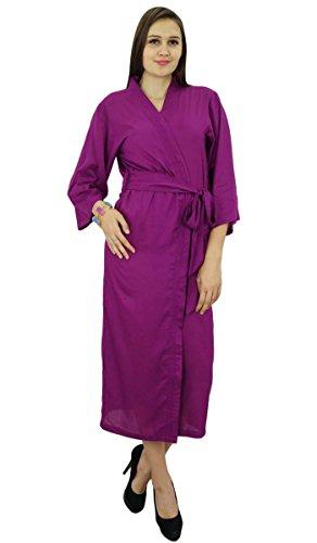 bimba-women-long-solid-belt-robe-soft-modal-cotton-wrap-round-plain-bath-robe