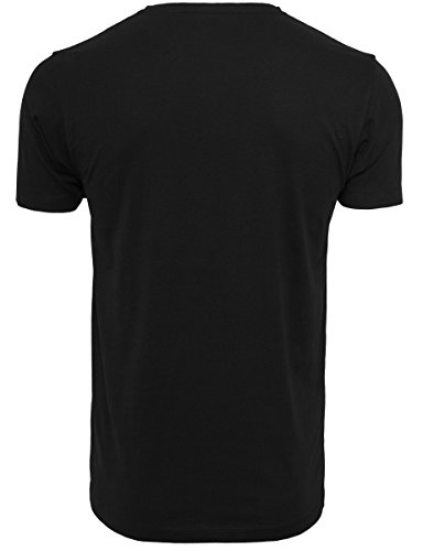 Mister Tee Herren Tupac Sunset Collage Tee T-Shirt black