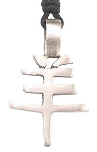 nesisches Sternzeichen Halskette Anhänger RAM Charakter Symbol, feine Zinn Schmuck (Chinesischen Mann Kostüm Amazon)