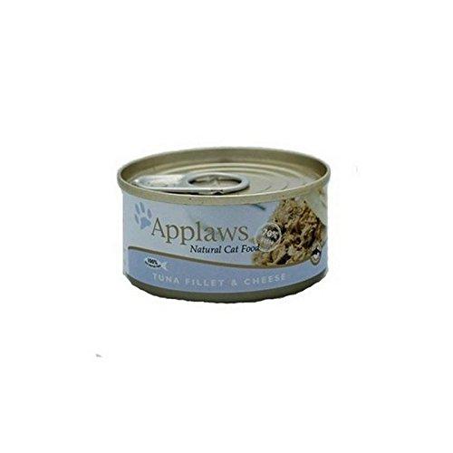 Thunfisch Und Käse Katzenfutter Von Applaws (70G) (Packung mit 2)