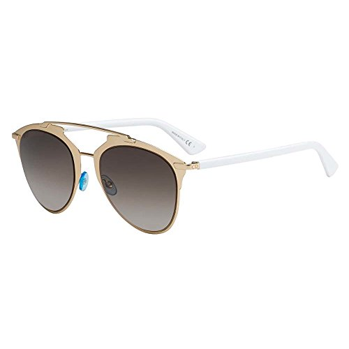 Christian Dior Dior Reflected 31UHA Womens Sunglasses Glasses Rose Gold White - Color: Rose Gold White