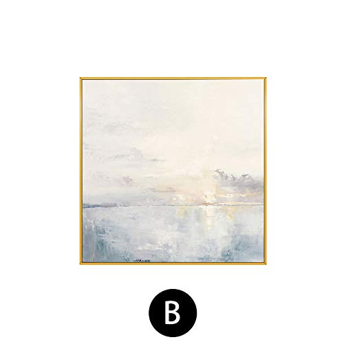 fengjiaren pittura ad olio dipinto a mano su tela,luce sul mare,per la casa parete decorazione arte pittura cafe bar salotto camera da letto