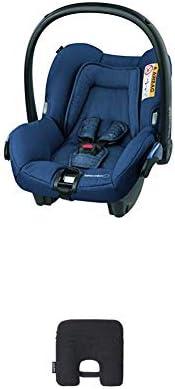 Bébé Confort Seggiolino Auto Citi Ovetto Neonato 0-13 Kg, Nomad Blue, con Dispositivo Antiabbandono, Nero