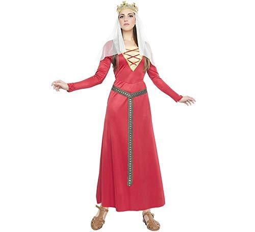 Zzcostumes Mittelalterliche Dame Kostüm Grösse XL Erwachsene Grösse
