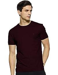 Van Heusen Athleisure Men's Solid Regular fit T-Shirt