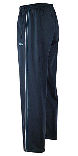 Jogginghose, Sport- Freizeithose offener Saum K-Größen-Dunkelblau-XL